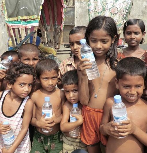 バングラデッシュの子供たち